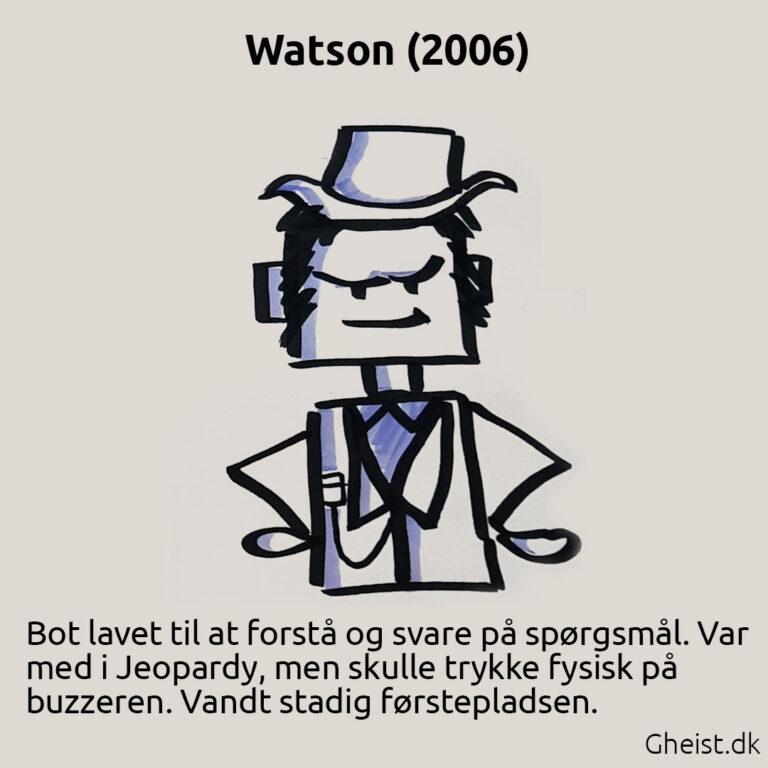 Tegning af Watson