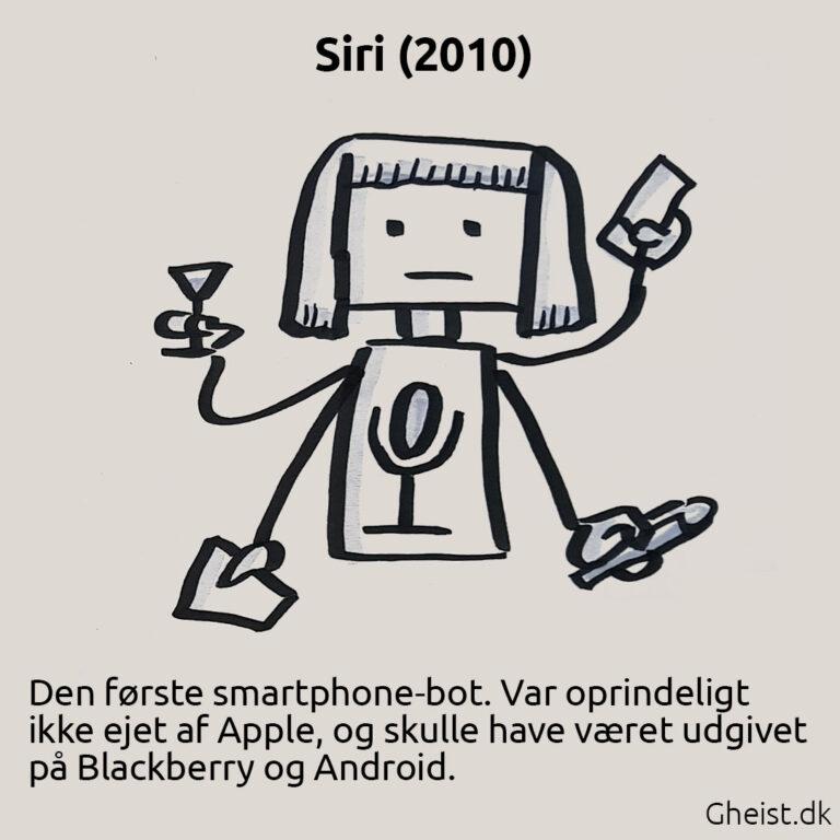 Tegning af Siri