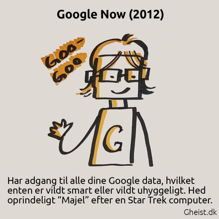 Tegning af Google Now