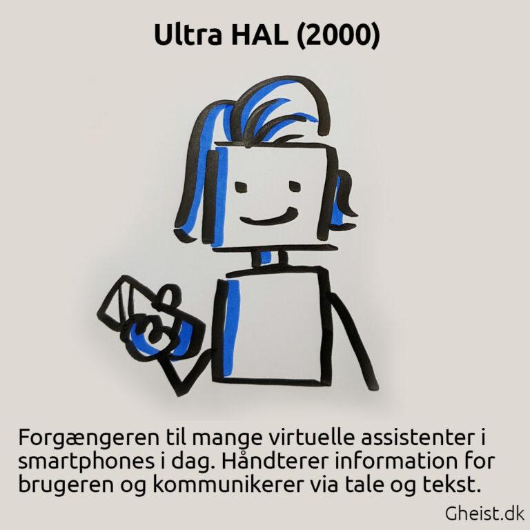 Tegning af Ultra Hal
