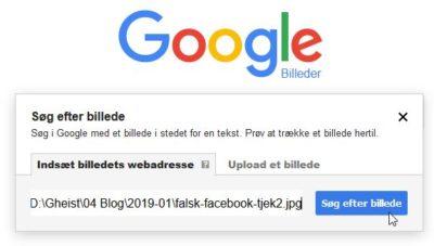 Søg efter billede på google