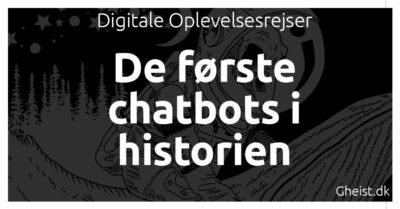 De første chatbots i historien