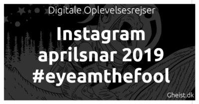 Instagram aprilsnar 2019 #eyeamthefool