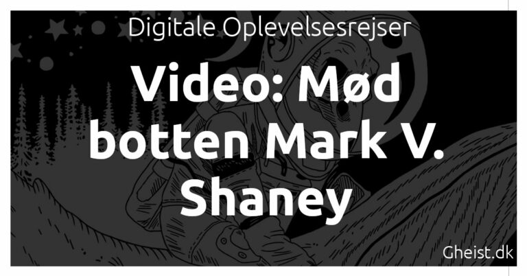 Video: Mød botten Mark V Shaney