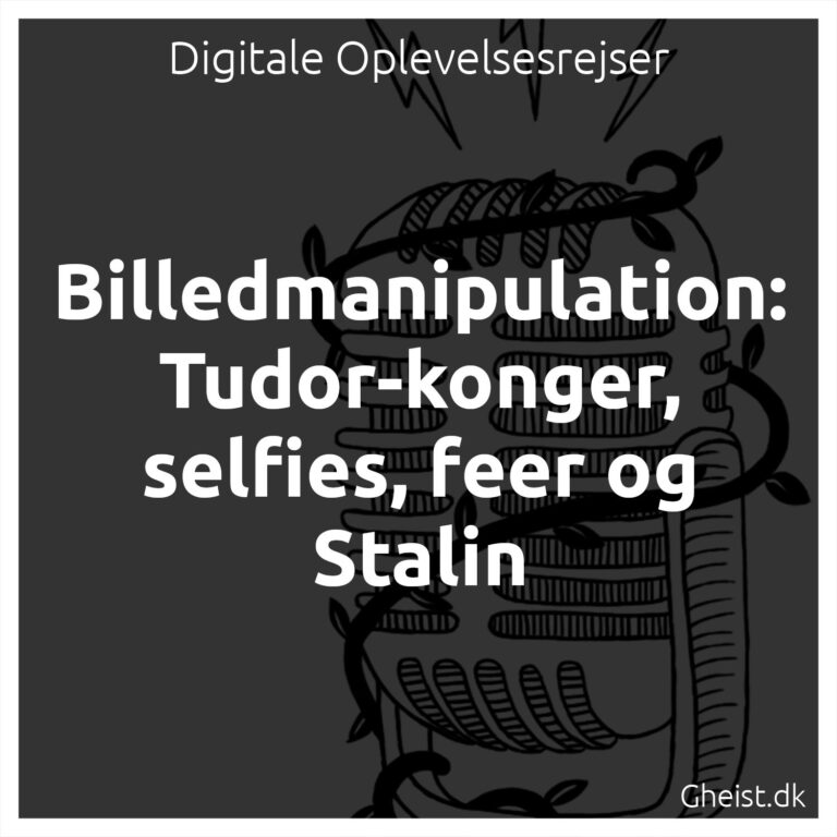 Billedmanipulation podcast